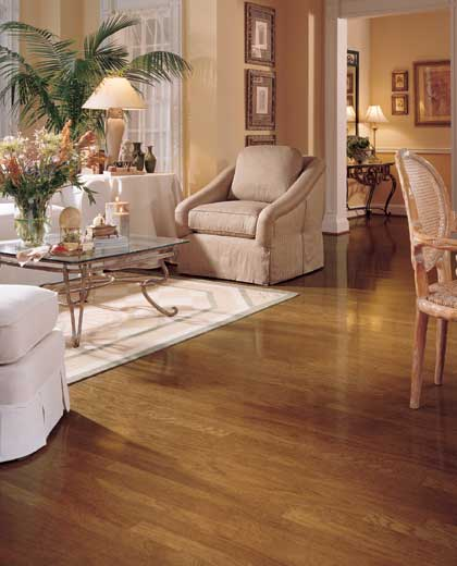 Hatteras oak strip for Living room floor designs pictures